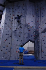 JIC and PNC climbing at Climbin\' High