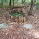 Typical Log Planter