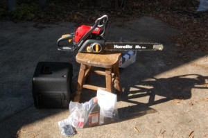 "Homelite 18"" Chainsaw"