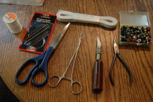 Picture of tools used for this repair.